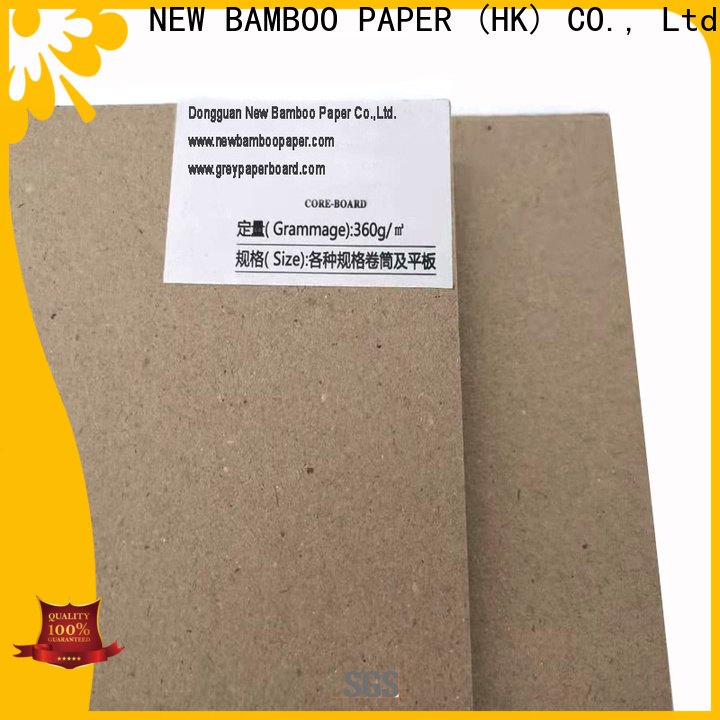 fine- quality advantages of grey board unbleached factory price for shirt accessories