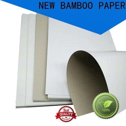 NEW BAMBOO PAPER useful duplex board price factory price for toothpaste boxes