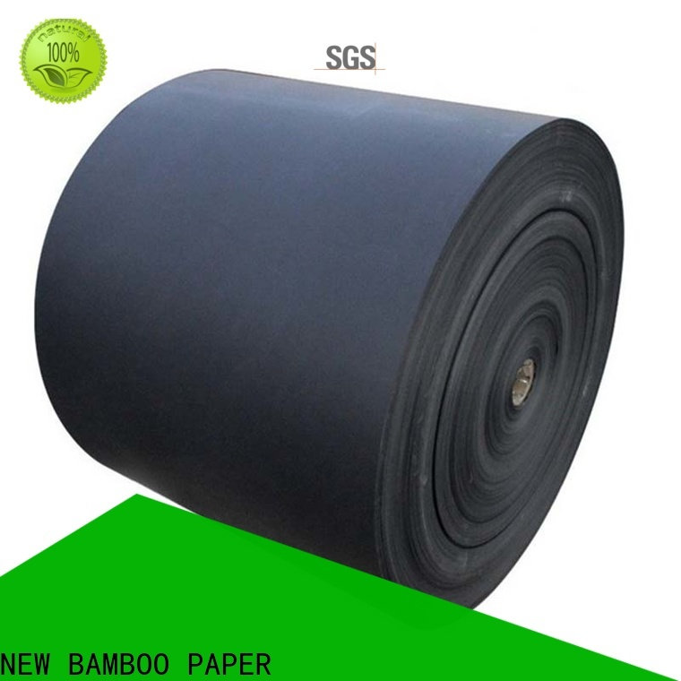 NEW BAMBOO PAPER newly black chipboard sheets for photo album