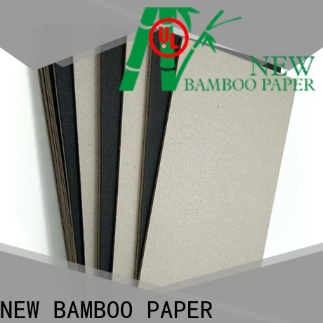 NEW BAMBOO PAPER bag black chipboard free quote for booking binding