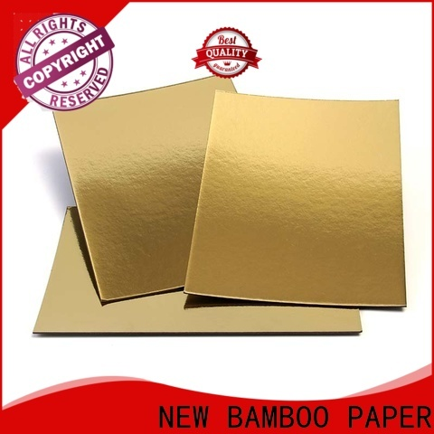 NEW BAMBOO PAPER laminated foil board for bread packaging