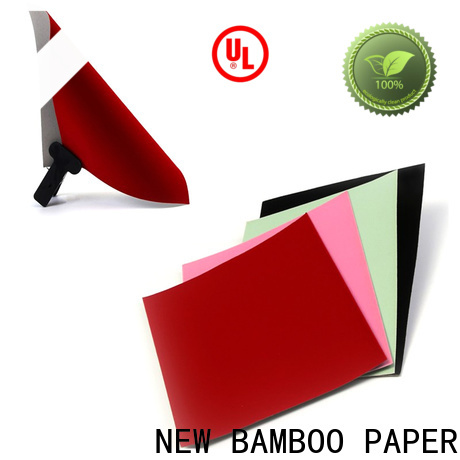 NEW BAMBOO PAPER pulp white flocked paper  manufacturer for crafts