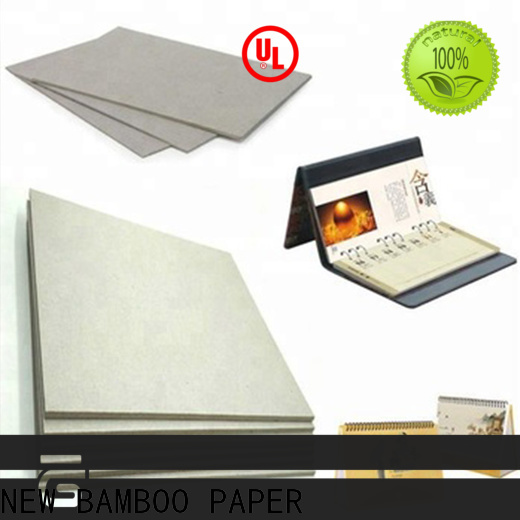 NEW BAMBOO PAPER rolls grey cardboard free design for stationery
