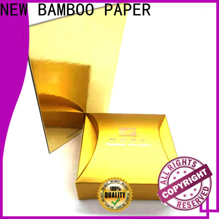 NEW BAMBOO PAPER inexpensive foil board free quote for stationery