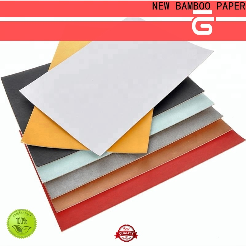 NEW BAMBOO PAPER new-arrival what is duplex board used for for box packaging
