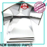 NEW BAMBOO PAPER gold metallic foil board bulk production for dessert packaging