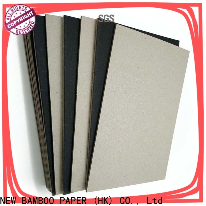 NEW BAMBOO PAPER scientific black backing board free design for photo album