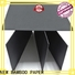 NEW BAMBOO PAPER quality black paper board free design for jewelry boxes