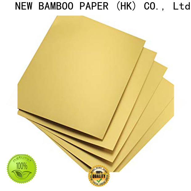 NEW BAMBOO PAPER good-package foil cake board for wholesale for bread packaging