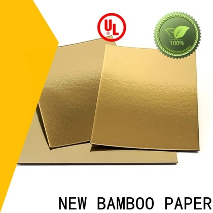 NEW BAMBOO PAPER fine- quality Cake Board Manufacturers free quote for dessert packaging