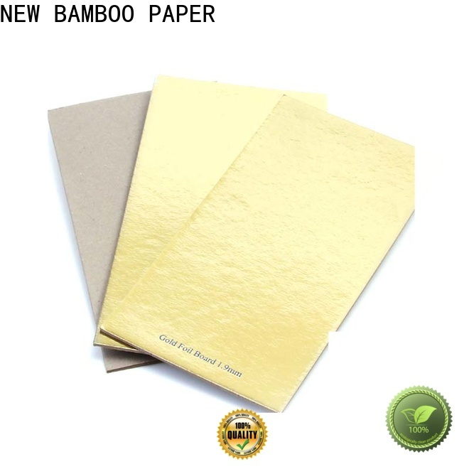NEW BAMBOO PAPER foil cake board foil paper for dessert packaging