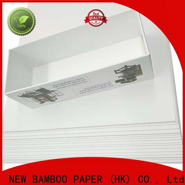 NEW BAMBOO PAPER duplex what is duplex board used for factory price for box packaging