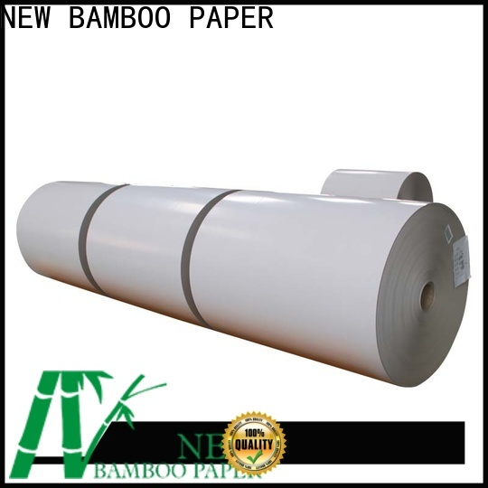NEW BAMBOO PAPER side duplex paper sheet factory price for box packaging