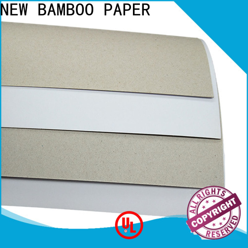 coated duplex board with grey back back from manufacturer for gift box binding