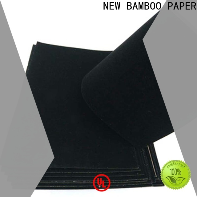 NEW BAMBOO PAPER useful velvet flocked paper supplier for gift box binding