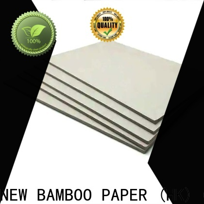 NEW BAMBOO PAPER excellent gray chipboard buy now for T-shirt inserts