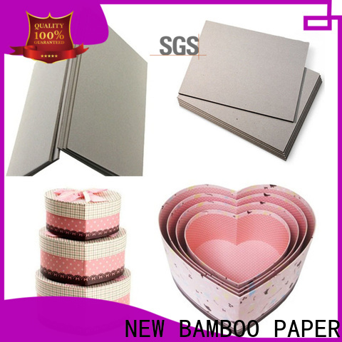 NEW BAMBOO PAPER curl grey chipboard inquire now for shirt accessories