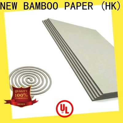 NEW BAMBOO PAPER inexpensive grey board for sale free design for hardcover books