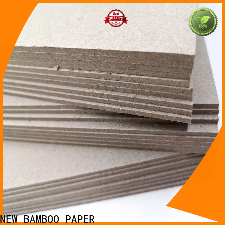 NEW BAMBOO PAPER newly grey paper board for wholesale for hardcover books