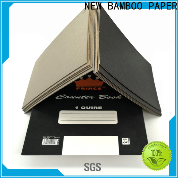 best thick black cardboard laminated bulk production for gift box