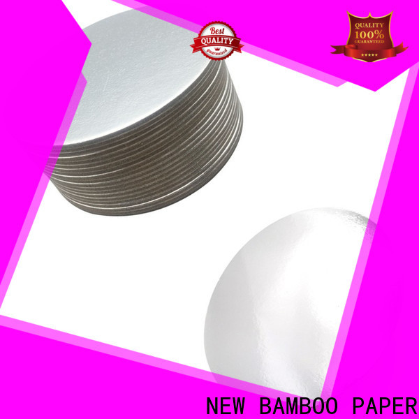NEW BAMBOO PAPER laminated foil board printing for wholesale for dessert packaging