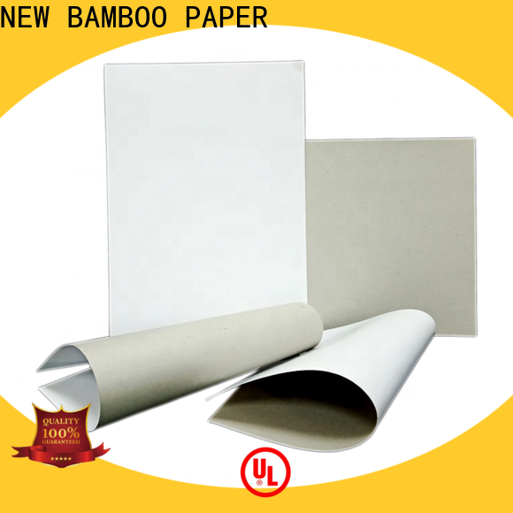 NEW BAMBOO PAPER mixed grey back duplex board order now for printing industry
