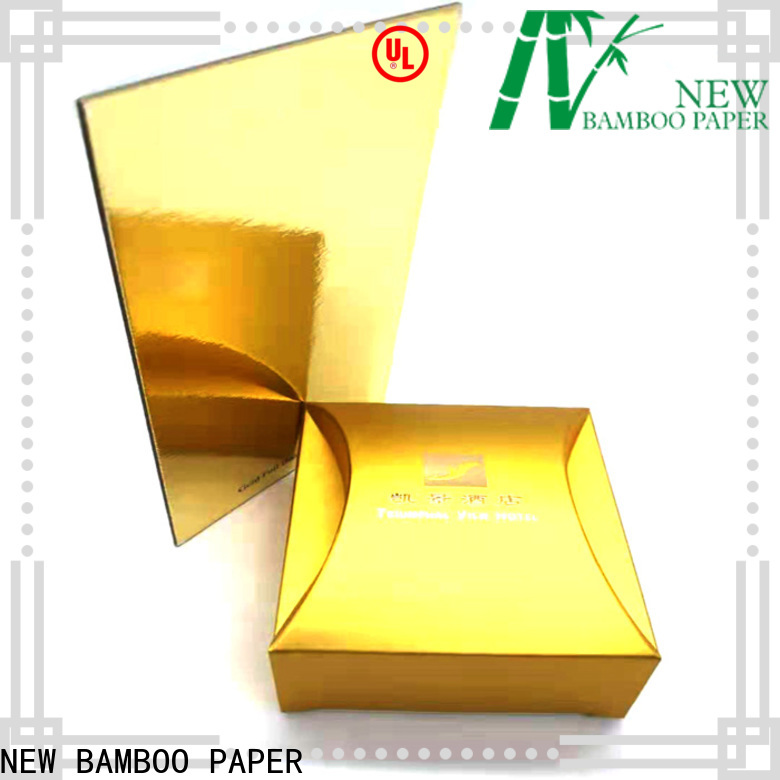 NEW BAMBOO PAPER foil Cake Board Manufacturers order now for bread packaging