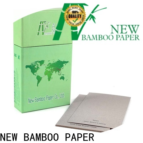 NEW BAMBOO PAPER newly laminated grey board factory price for packaging
