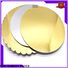 NEW BAMBOO PAPER nice metallic foil paper free design for cake board