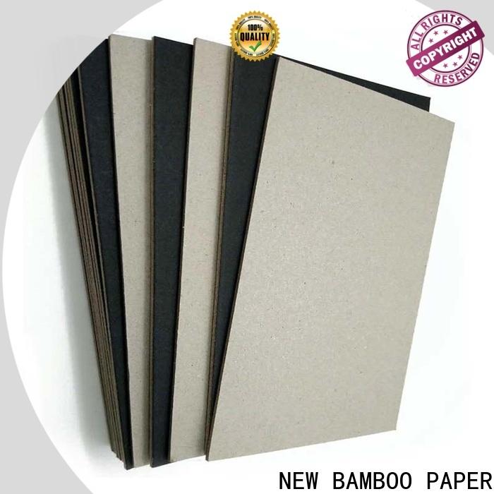 fantastic black laminated chipboard uncoated supplier for shopping bag