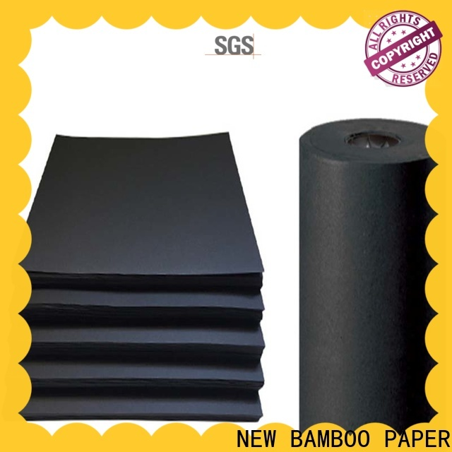NEW BAMBOO PAPER best black paper sheet long-term-use for photo album