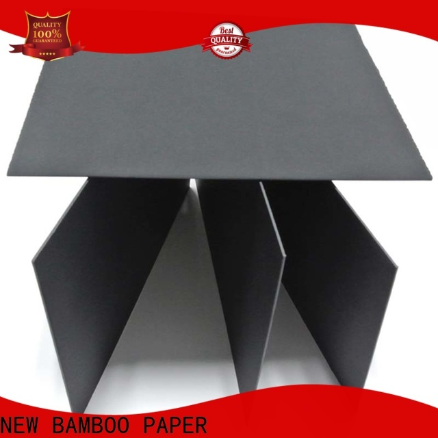 NEW BAMBOO PAPER fantastic  black paperboard bulk production for photo albums