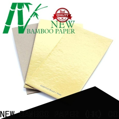 NEW BAMBOO PAPER excellent metallic foil paper for wholesale for stationery