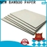NEW BAMBOO PAPER rolls carton gris factory price for folder covers