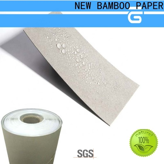 NEW BAMBOO PAPER side Temporary Floor Protection Paper free design for sheds packaging