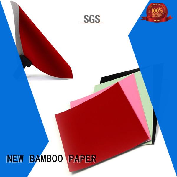 fantastic velvet cardboard sheets manufacturer for stationery