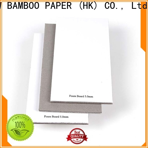 NEW BAMBOO PAPER quality 24x36 foam board bulk production for shirt accessories