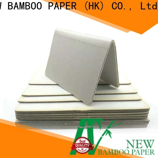 NEW BAMBOO PAPER nice thick foam board bulk production for boxes