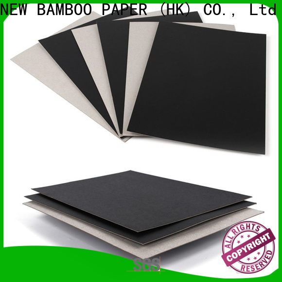 NEW BAMBOO PAPER grey blackpaper long-term-use for notebook covers