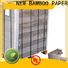 NEW BAMBOO PAPER inexpensive laminated grey board check now for photo frames