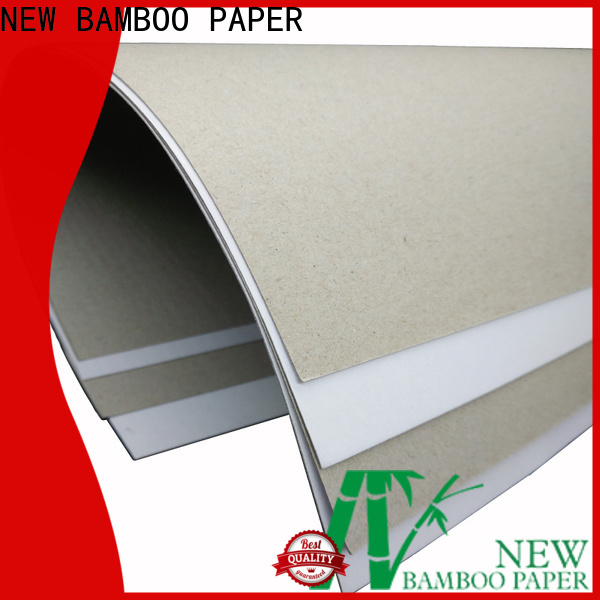 NEW BAMBOO PAPER one duplex board white back for shoe boxes