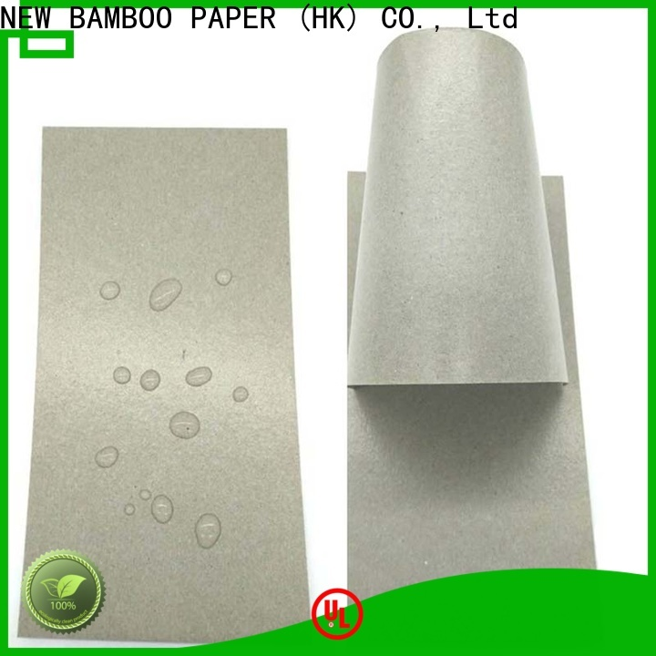 NEW BAMBOO PAPER durable temporary protective floor covering certifications for trash cans