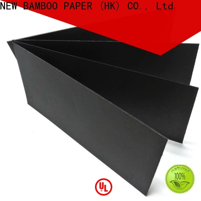 NEW BAMBOO PAPER hot-sale thick black paper supply for black boards