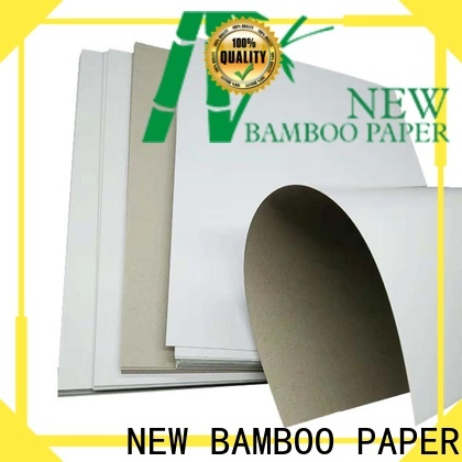 NEW BAMBOO PAPER grey duplex board grey back for crafts