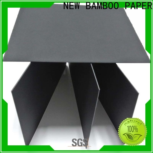 NEW BAMBOO PAPER commercial black core board check now for silk printing