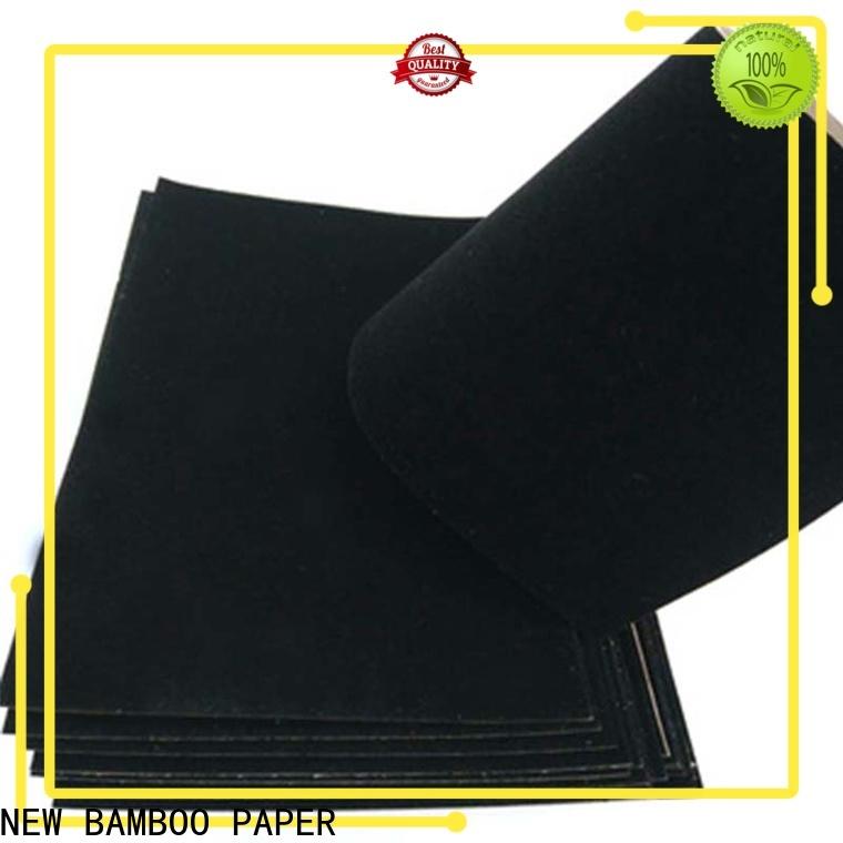 hot-sale flocked velvet paper usage wholesale for stationery