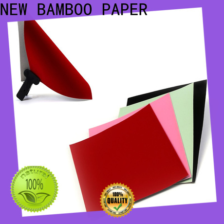 NEW BAMBOO PAPER excellent flock sheet for paper bags