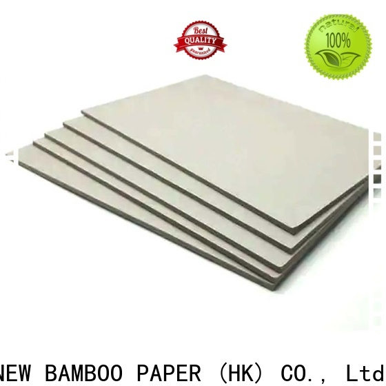 NEW BAMBOO PAPER desk grey chipboard sheets from manufacturer for shirt accessories