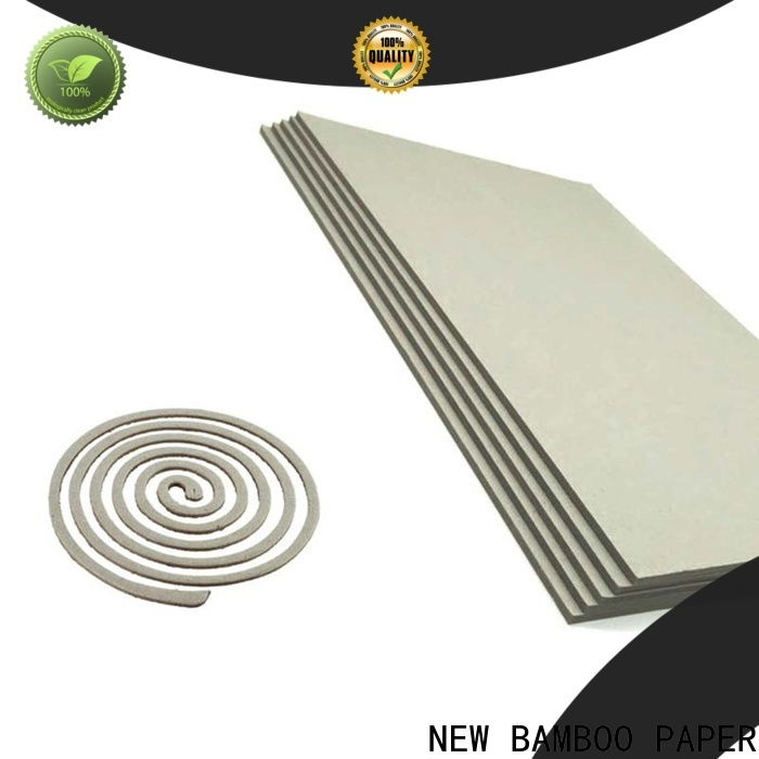 NEW BAMBOO PAPER nice grey cardboard from manufacturer for T-shirt inserts