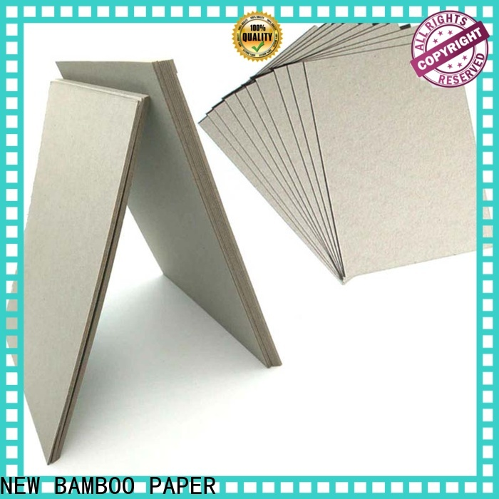 NEW BAMBOO PAPER inexpensive grey chipboard sheets check now for book covers